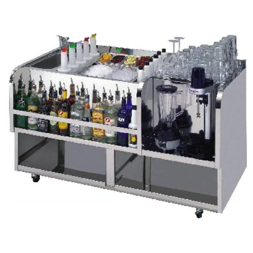 Quầy pha chế inox, thiết bị Bar cafe