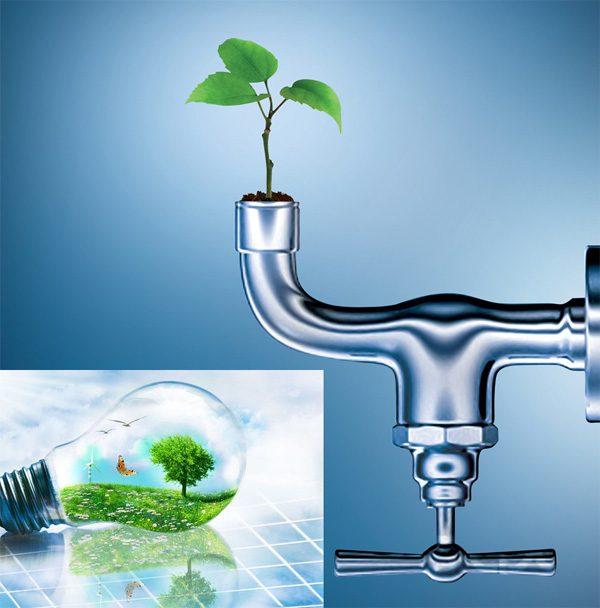 Điện và nước là nguồn tài nguyên quý giá cần được tiết kiệm