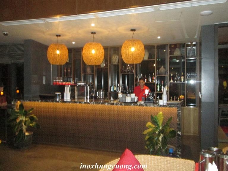 quay bar inox