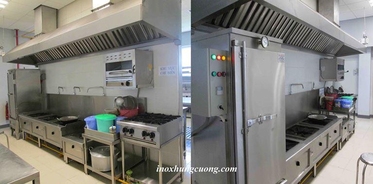 thiết bị cho khu nấu ăn