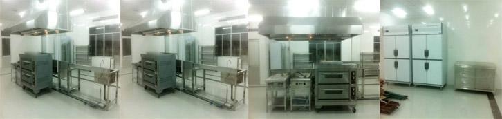 bếp công nghiệp, gia công inox