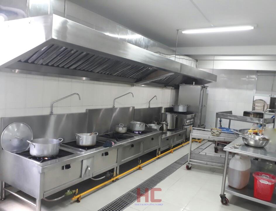 Mức đầu tư cho hệ thống bếp ăn tập thể