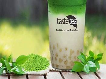 Hệ quầy pha chế trà sữa cho chuỗi hệ thống trà TasteTea