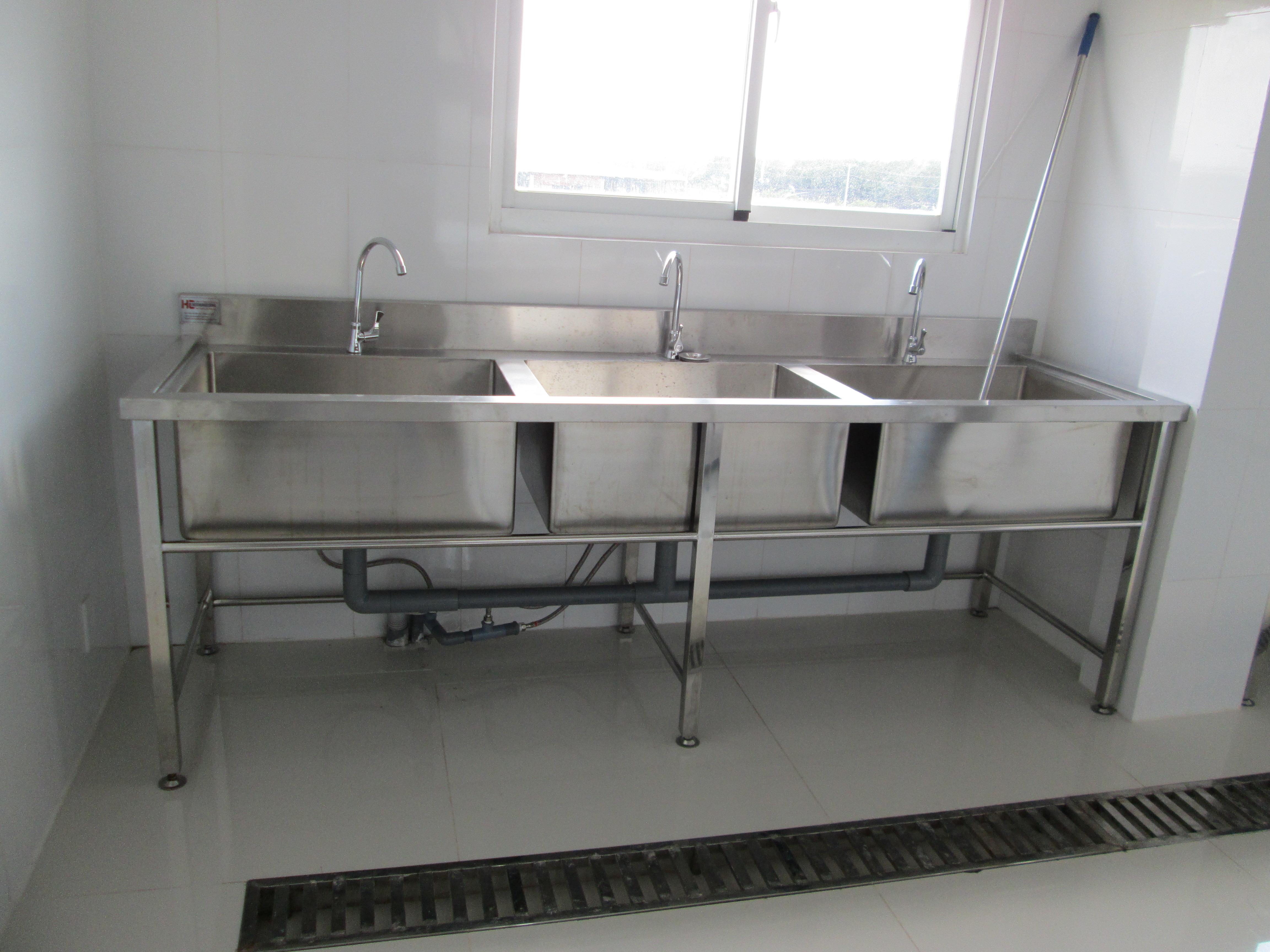 Tư vấn thiết kế chậu rửa công nghiệp đáp ứng mọi nhu cầu sử dụng