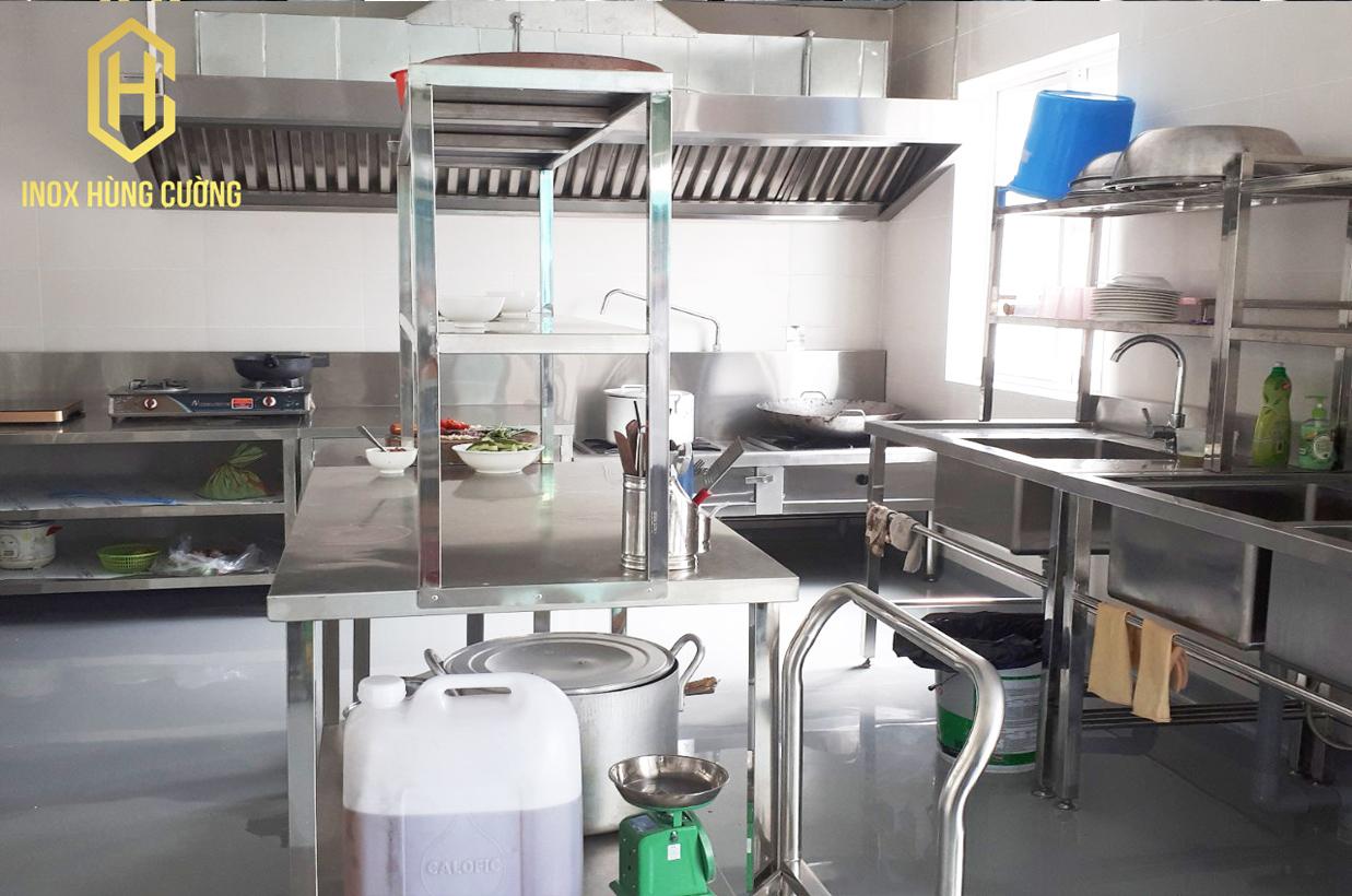 Thiết bị bếp công nghiệp dành cho khu căn tin nhà máy Medep JSC