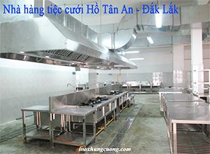Thiết bị inox bếp công nghiệp dành cho nhà hàng khách