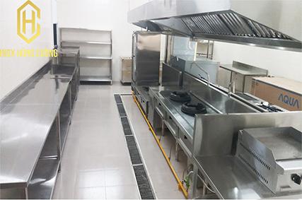 Sử dụng thiết bị inox trong nhà bếp để bảo vệ sức khỏe người tiêu dùng