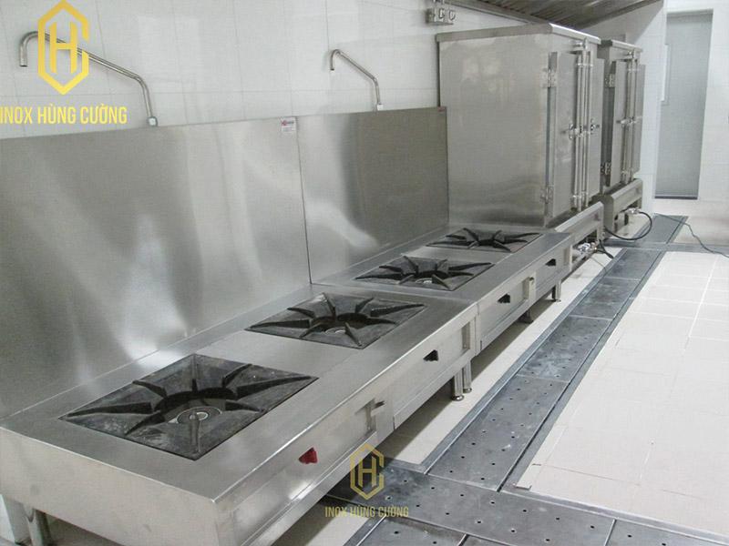 Quy trình thiết kế bếp một chiều cho trường mầm non