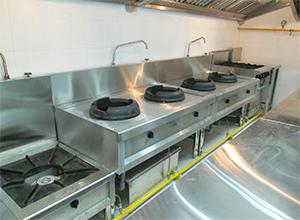 Đặc điểm, quy trình bố trí bếp công nghiệp một chiều