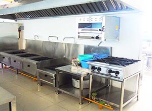 Thiết kế bếp ăn công nghiệp cho Resort