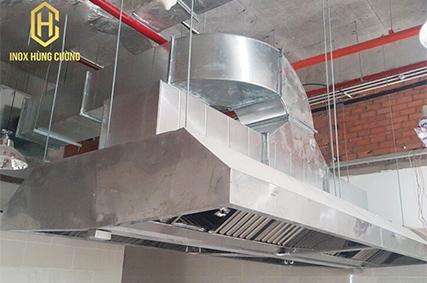 Cách bố trí hệ thống hút khói trong bếp nhà hàng