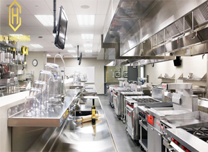 Ứng dụng phong thủy trong thiết kế bếp nhà hàng  khách sạn
