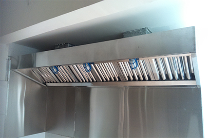 Tiêu chuẩn thiết bị chụp hút khói bếp nhà hàng
