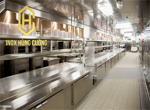 Cách sắp xếp hệ thống bếp công nghiệp hoàn thiện cho chủ đầu tư