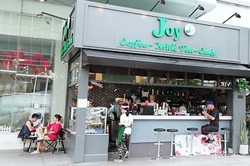 Tư vấn thiết kế và lắp đặt quầy bar trà sữa inox cho thương hiệu Joy