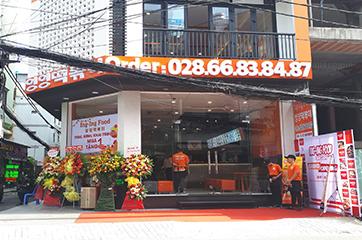 Cung cấp thiết bị Inox cho Nhà hàng Ing Ing Food Hàn Quốc
