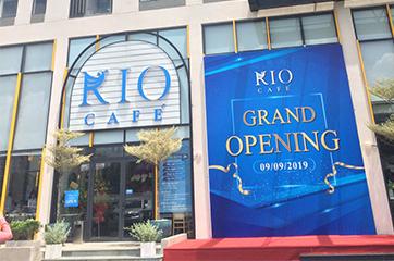 Thiết kế hệ thống bếp nhà hàng Cafe cho RIO CAFE