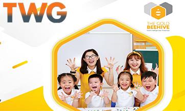 Cung cấp bếp trường học cho trường Mầm non Quốc tế The Gold Beehive