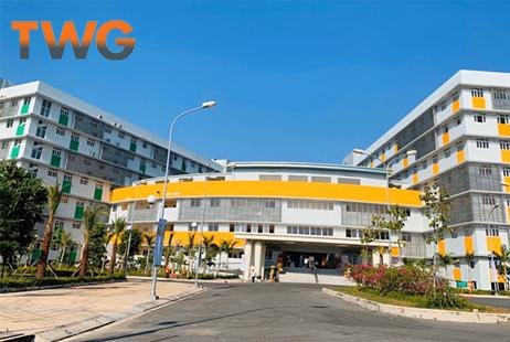Inox Hùng Cường cung cấp thiết bị Inox bếp căn tin Bệnh Viện Sản Nhi Long An