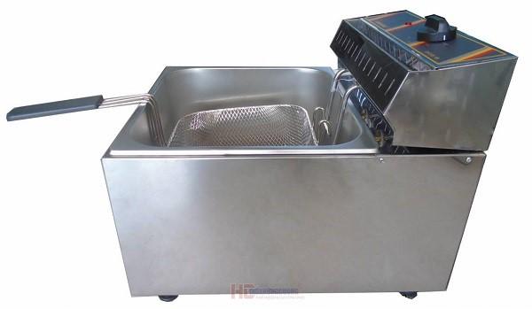 Nên chọn bếp chiên nhúng đơn dùng điện hay dùng gas?