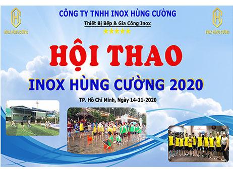 Tổ chức chương trình hội thao Inox Hùng Cường 2020