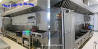 Quy định trong thiết kế bếp công nghiệp một chiều
