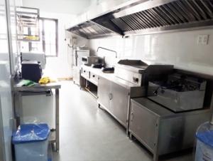 Bếp công nghiệp dành cho khu căn tin của Tập đoàn Vidon