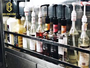 Hệ quầy pha chế trà sữa thương hiệu Heidi