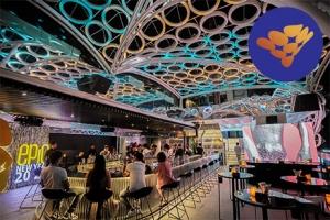 Cung cấp hệ thống thiết bị quầy bar inox cho thương hiệu Bar Epic Sky Lounge.
