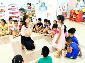 Hoàn thành dự án cung cấp thiết bị bếp Trường Mầm Non Tân Kiểng