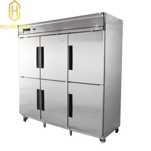 Đặc điểm cấu tạo của tủ mát công nghiệp 6 cánh xuất xứ tại Việt Nam