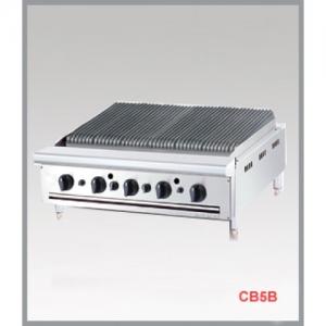Bếp nướng công nghiệp 5 họng chân thấp