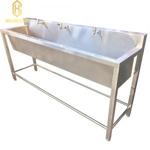 Máng rửa tay inox công nghiệp sản xuất tại Inox Hùng Cường