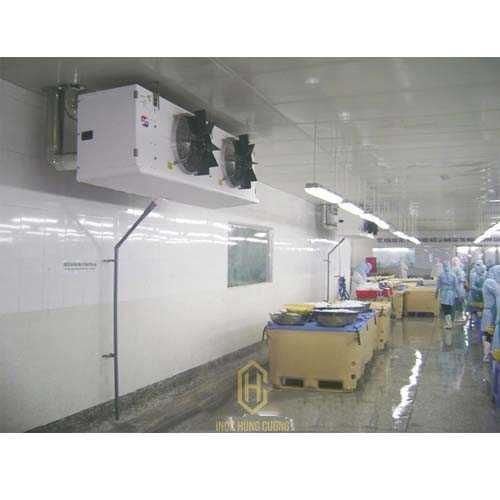 Lắp đặt kho lạnh công nghiệp