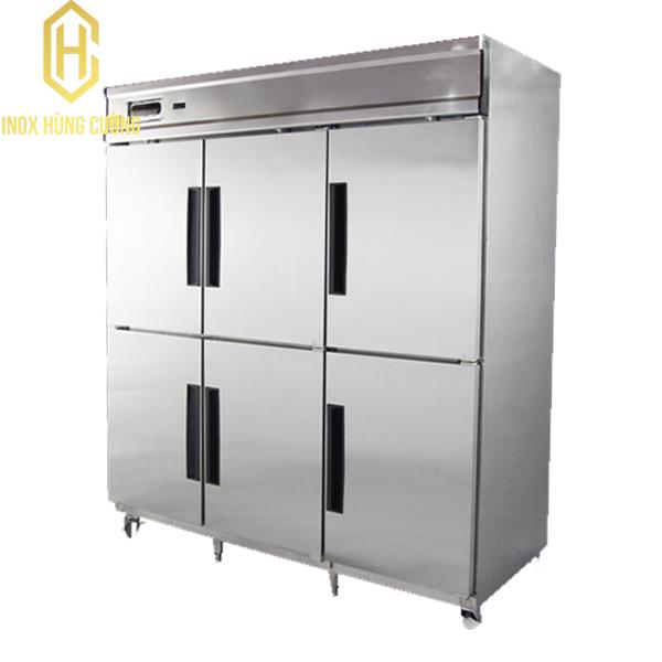 Sử dụng tủ đông công nghiệp 6 cánh trong bảo quản thực phẩm