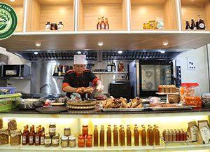 Thiết bị bếp chế biến thực phẩm cho cửa hàng Tân Lâm Farm