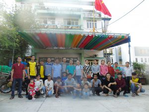 Công ty TNHH Inox Hùng Cường tổ chức chuyến thăm Mái Ấm Thiên Thần Quận 9