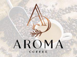 Thiết bị quầy bar cafe Inox phục vụ cho thương hiệu Aroma Coffee