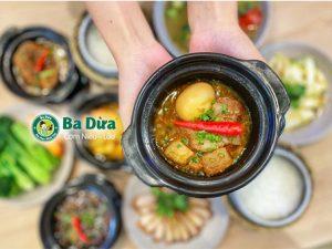 Thiết bị bếp nhà hàng cho thương hiệu Cơm Ba Dừa