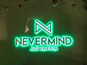 Quầy bar pha chế Inox cho thương hiệu Bar Nevermind Lounge Saigon