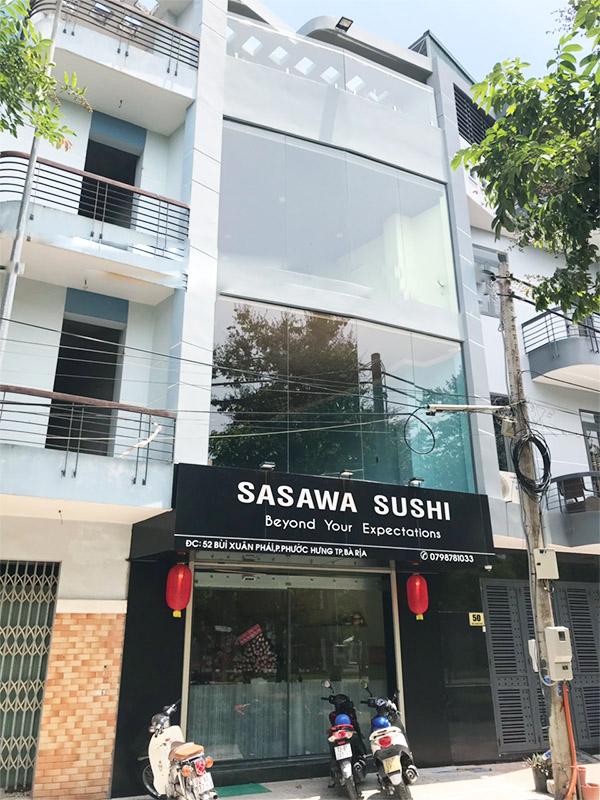 Nhà hàng sasawa sushi