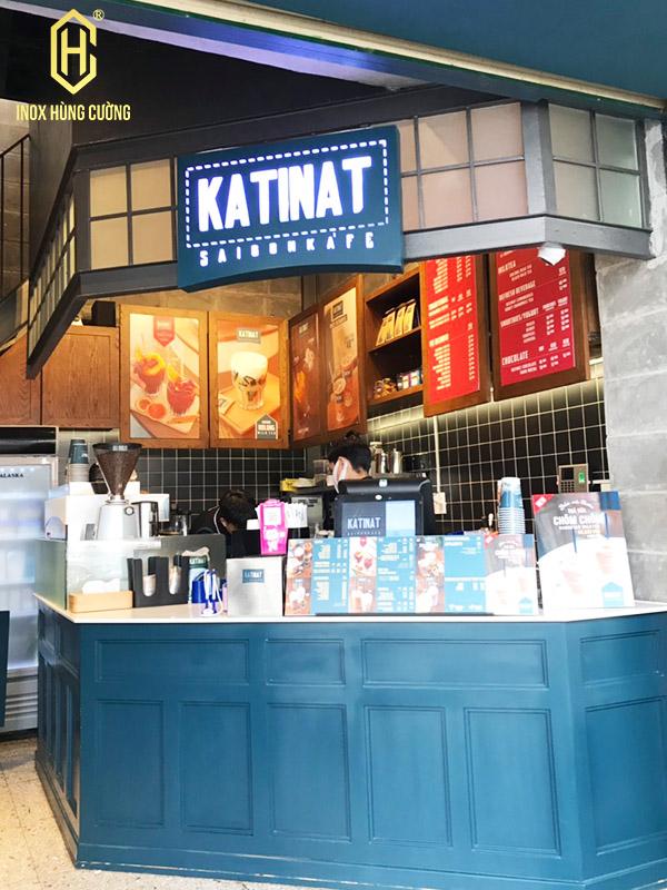 quầy cafe katinat