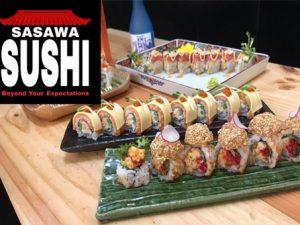 Cung cấp trọn gói bếp nhà hàng cho Ẩm thực Nhật Bản Sasawa Sushi
