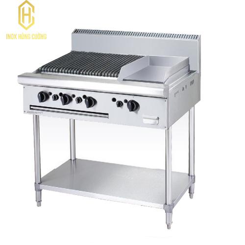 Bếp nướng nhân tạo và chiên phẳng