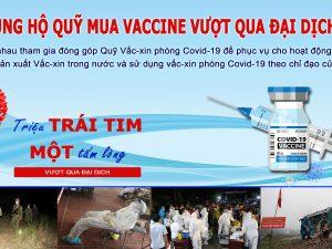Inox Hùng Cường Chung Tay Ủng Hộ Quỹ Vaccine Phòng Chống Dịch Covid-19