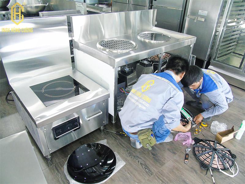 lắp ráp bếp từ