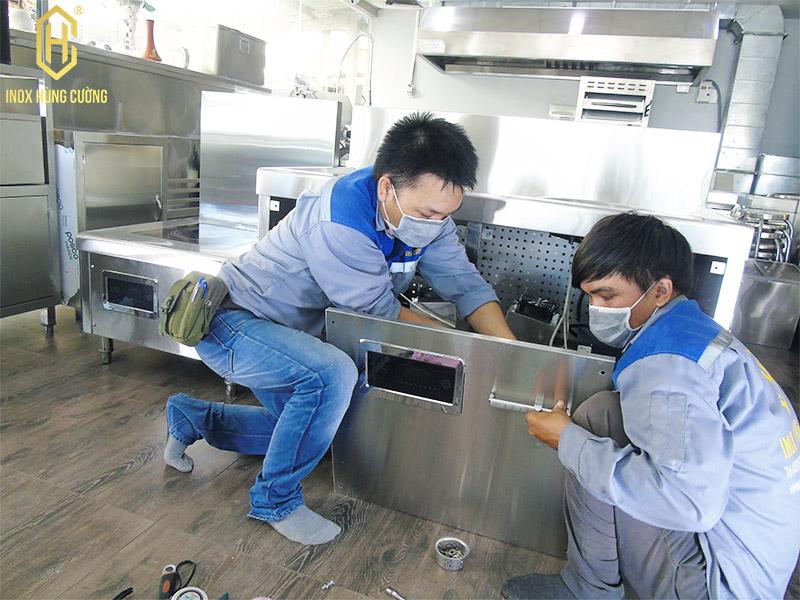 sản xuất bếp từ công nghiệp