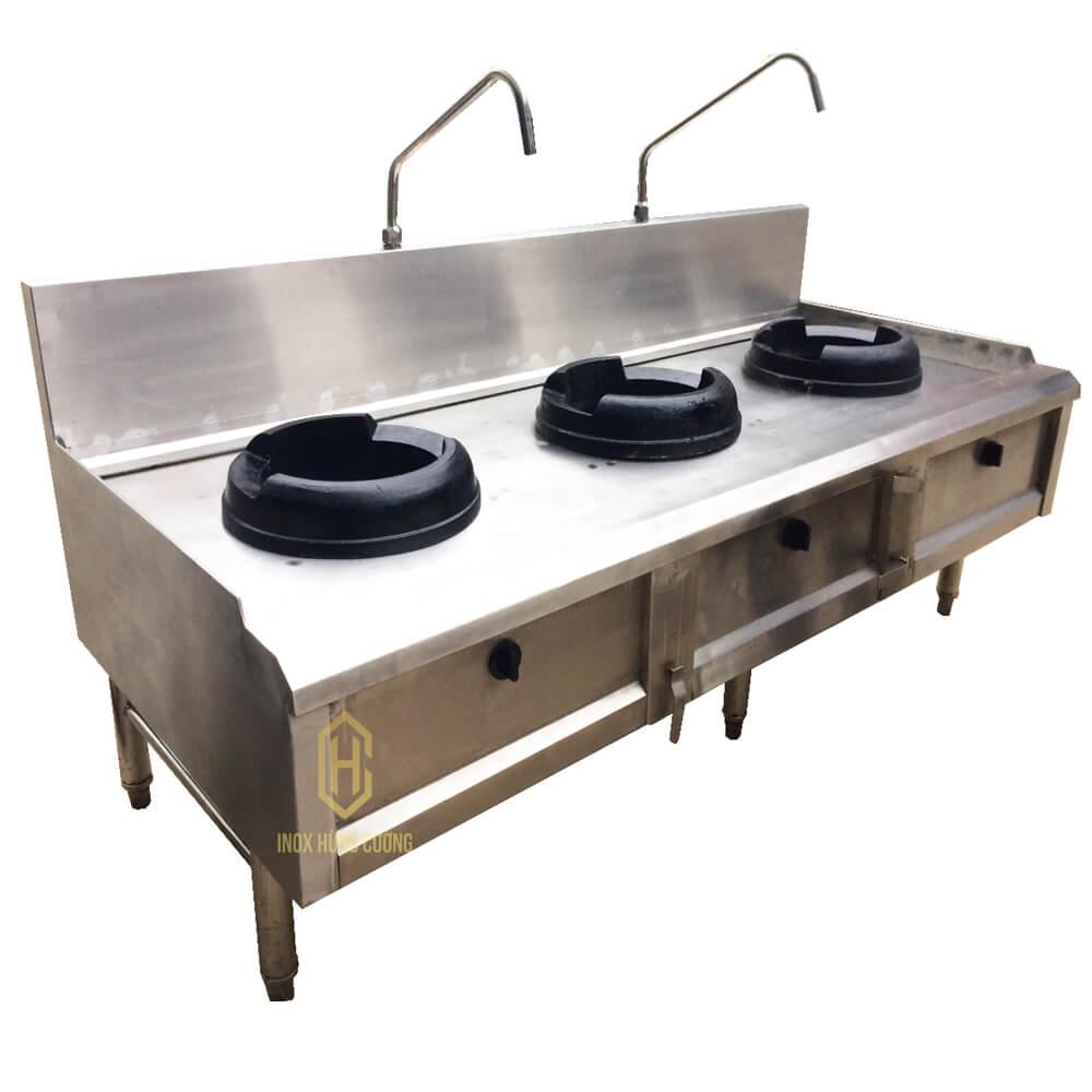 Bếp công nghiệp 3 họng đốt